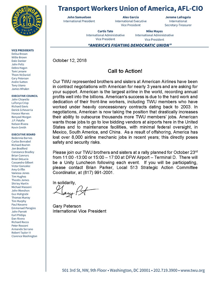 TWU Local 501 – Page 17 – Transport Workers Union