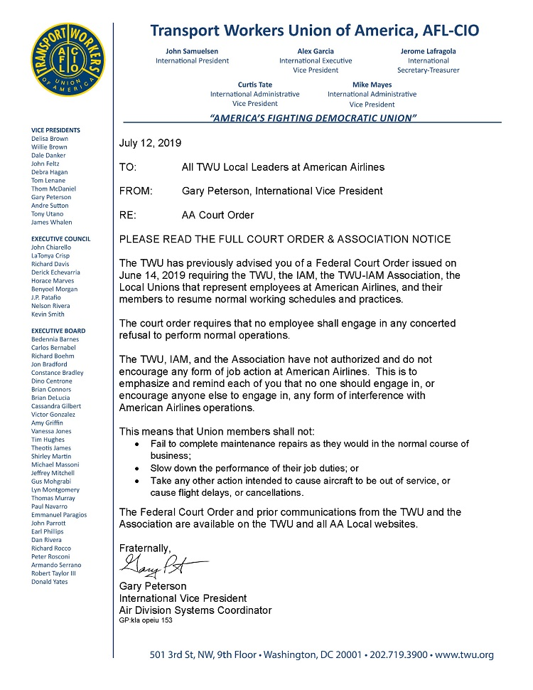 TWU Local 501 – Page 4 – Transport Workers Union